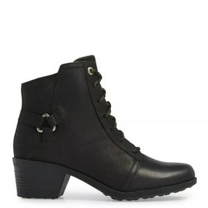 Teva Foxy Boots Black Waterproof Lace Up 7